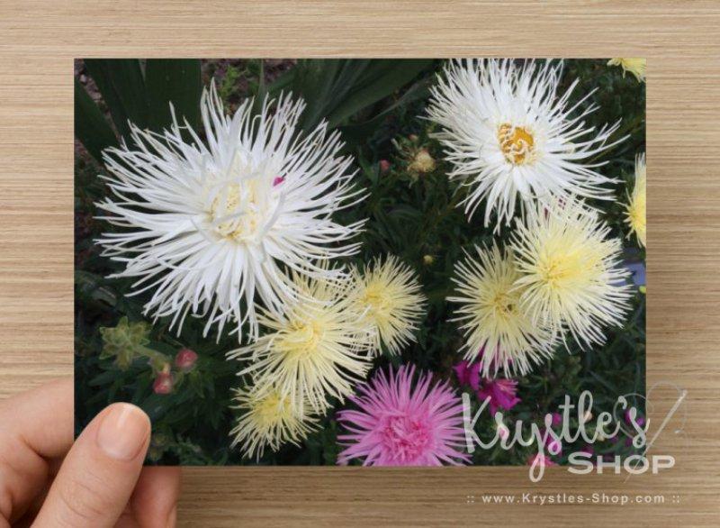 """Postkarte """"Blumenstrauss"""""""